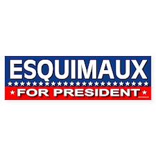 ESQUIMAUX Bumper Bumper Sticker