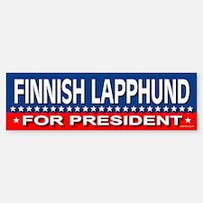 FINNISH LAPPHUND Bumper Bumper Bumper Sticker