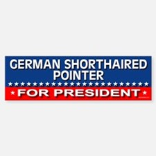 GERMAN SHORTHAIRED POINTER Bumper Bumper Bumper Sticker