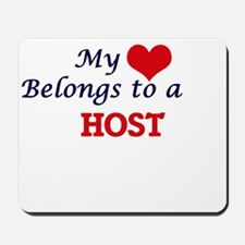 My heart belongs to a Host Mousepad