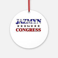 JAZMYN for congress Ornament (Round)