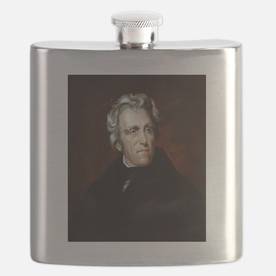 Funny Us presidents Flask