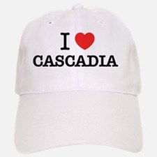 I Love CASCADIA Baseball Baseball Cap