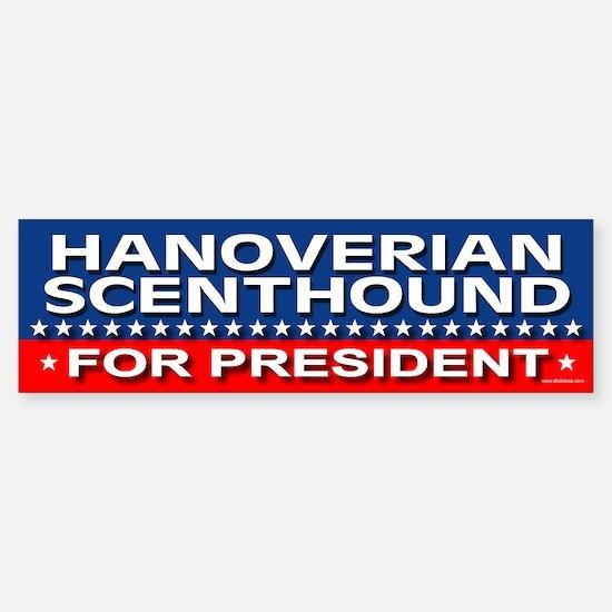 HANOVERIAN SCENTHOUND Bumper Bumper Bumper Sticker
