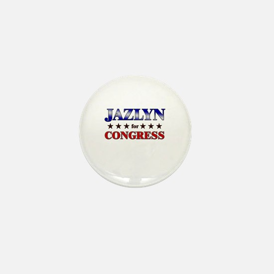 JAZLYN for congress Mini Button