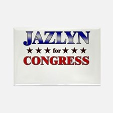 JAZLYN for congress Rectangle Magnet