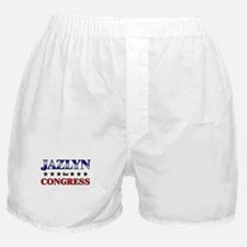 JAZLYN for congress Boxer Shorts