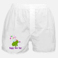 New Years Frog Boxer Shorts