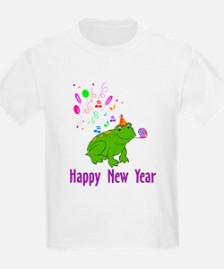 New Years Frog T-Shirt