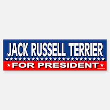 JACK RUSSELL TERRIER Bumper Bumper Bumper Sticker