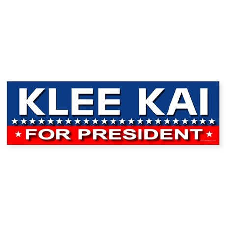 KLEE KAI Bumper Sticker