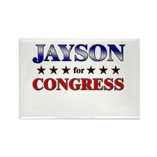 JAYSON for congress Rectangle Magnet