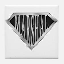 SuperMarshal(metal) Tile Coaster