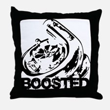Boosted Throw Pillow
