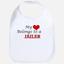 My heart belongs to a Jailer Bib