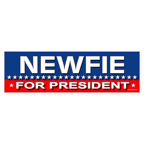 NEWFIE Bumper Sticker