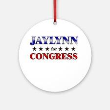 JAYLYNN for congress Ornament (Round)