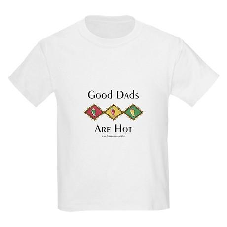 Hot Dads Kids Light T-Shirt