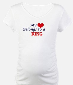 My heart belongs to a King Shirt