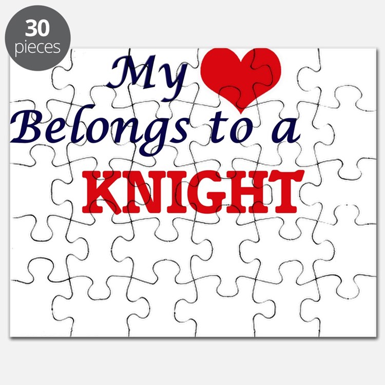 My heart belongs to a Knight Puzzle