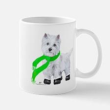 Westie Wintertime Mug