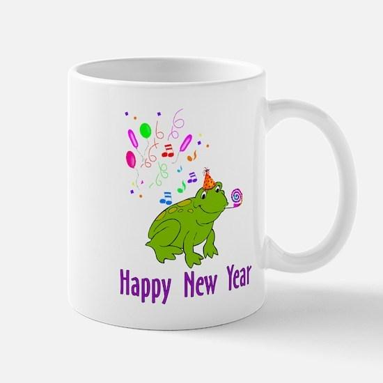 New Years Frog Mug