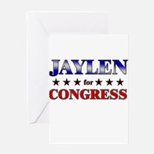 JAYLEN for congress Greeting Card
