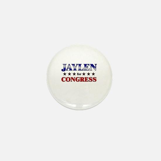 JAYLEN for congress Mini Button