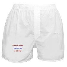 Connor - Grandma Wrapped Arou Boxer Shorts