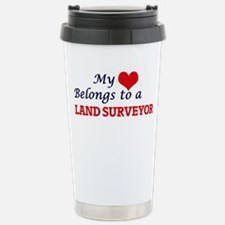 My heart belongs to a L Travel Mug
