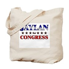 JAYLAN for congress Tote Bag