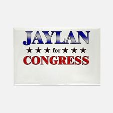 JAYLAN for congress Rectangle Magnet