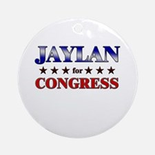 JAYLAN for congress Ornament (Round)