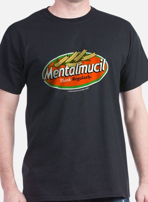 Metamucil Think Regularly Black T-Shirt
