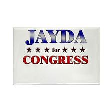 JAYDA for congress Rectangle Magnet