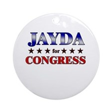 JAYDA for congress Ornament (Round)