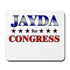 JAYDA for congress Mousepad