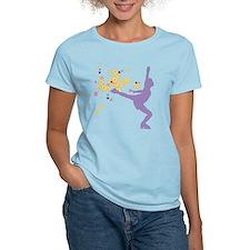 Floral Figure Skater T-Shirt