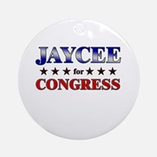 JAYCEE for congress Ornament (Round)