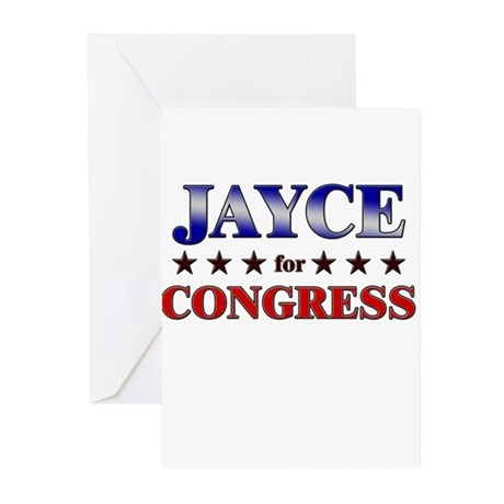 JAYCE for congress Greeting Cards (Pk of 10)