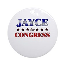 JAYCE for congress Ornament (Round)