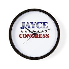 JAYCE for congress Wall Clock