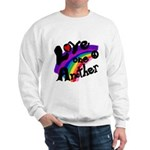 Rainbow Peace Love One Another Sweatshirt