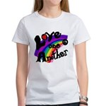 Rainbow Love One Another Women's T-Shirt