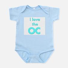 I Love the OC for OC lovers Infant Creeper