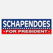 SCHAPENDOES Bumper Bumper Bumper Sticker