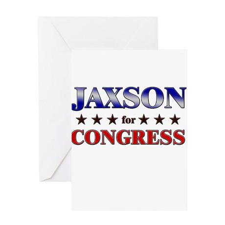 JAXSON for congress Greeting Card