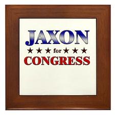 JAXON for congress Framed Tile