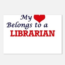 My heart belongs to a Lib Postcards (Package of 8)