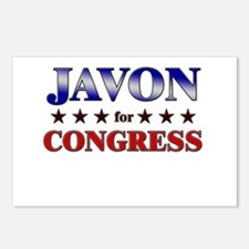 JAVON for congress Postcards (Package of 8)